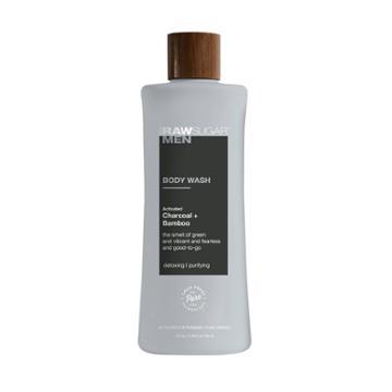 Raw Sugar Men's Body Wash Charcoal + Bamboo - 25 Fl Oz,