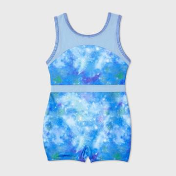 More Than Magic Toddler Girls' Galaxy Gymnastics Biketard - More Than