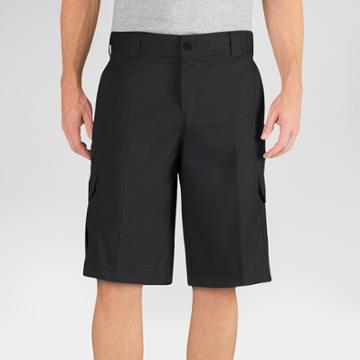 Dickies Men's Big & Tall Flex 13 Relaxed Fit Cargo Short - Black