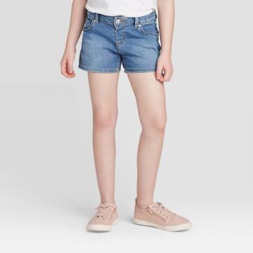 Girls' Jean Shorts - Cat & Jack Medium Wash Xs, Girl's,