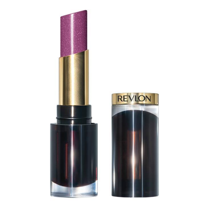 Revlon Super Lustrous Glass Shine Lipstick - 018 Luminous Lilac - 0.11oz, Luminous Purple