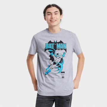 Men's Batman Short Sleeve Graphic T-shirt - Heather Gray