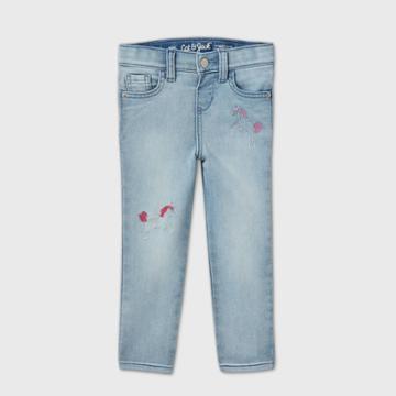 Toddler Girls' Unicorn Skinny Jeans - Cat & Jack