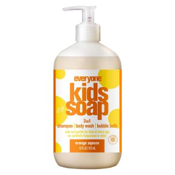 Everyone Kids Orange Squeeze Soap