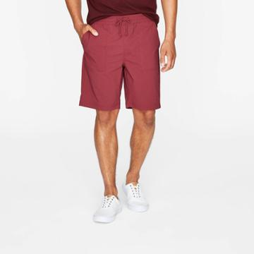Men's 9 Utility Woven Pull-on Shorts - Goodfellow & Co Berry