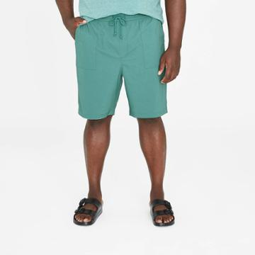 Men's Big & Tall 9 Utility Woven Pull-on Shorts - Goodfellow & Co Teal