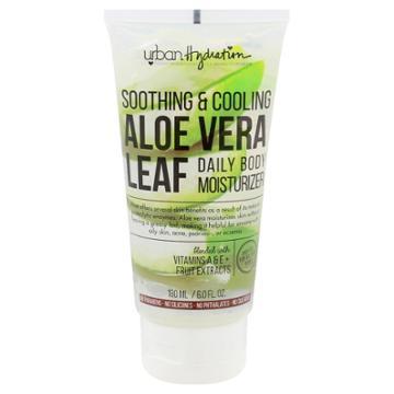 Urban Hydration Aloe Vera Leaf Soothing & Cooling Body Gel Moisturizer