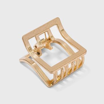 Hair Claw Clip - Universal Thread Worn Gold