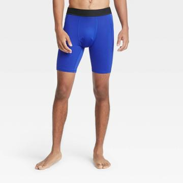 Men's 6 Fitted Shorts - All In Motion Blue S, Men's,