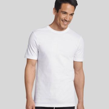 Jky By Jockey Jockey Generation Mens Stay New Cotton 3 + 1 Bonus Pack Crew Neck T-shirt - White