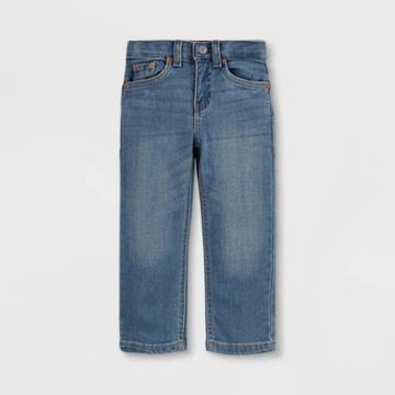 Levi's Toddler Boys' 514 Straight Fit Flex Stretch Jeans - Light Wash Found 2t, Light Blue Found