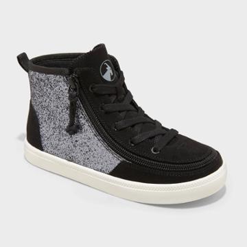 Girls' Billy Footwear Haring Essential High Top Sneakers - Dark Black