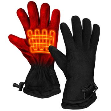 Actionheat Aa Battery Heated Fleece Glove, Size:
