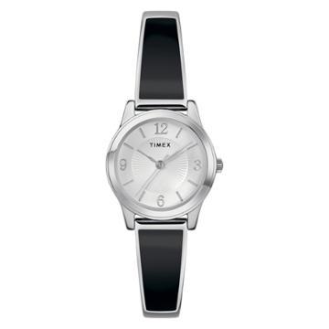 Women's Timex Stretch Bangle Watch - Black Tw2r92700jt,
