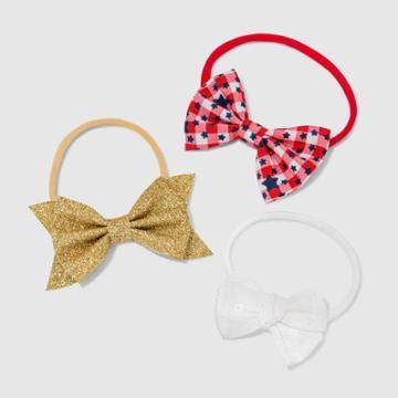 Baby Girls' 3pk Americana Headband - Cat & Jack