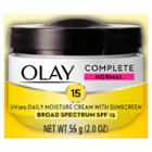 Olay Complete All Day Face Moisturizer With Sunscreen Broad Spectrum Spf 15 Normal