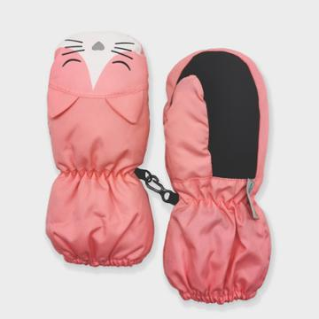 Toddler Girls' Cat Ski Mittens - Cat & Jack Light Pink