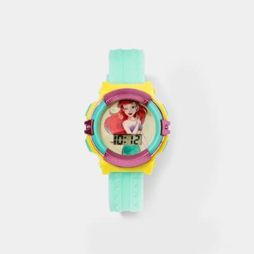 Girls' Disney Princess The Little Mermaid Silicone Watch - Green