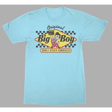 Bob's Big Boy Men's Big Boy Burgers Short Sleeve Graphic T-shirt - Blue S, Men's,