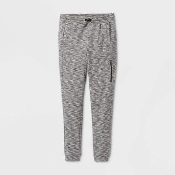 Boys' French Terry Jogger Pants - All In Motion Black