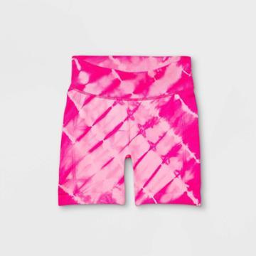 Girls' 5 Seamless Bike Shorts - All In Motion Fuchsia