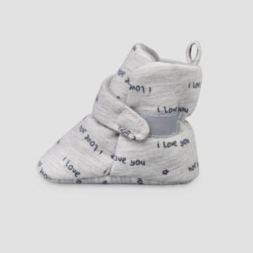 Baby Love Wrap Slippers - Just One You Made By Carter's Gray Newborn