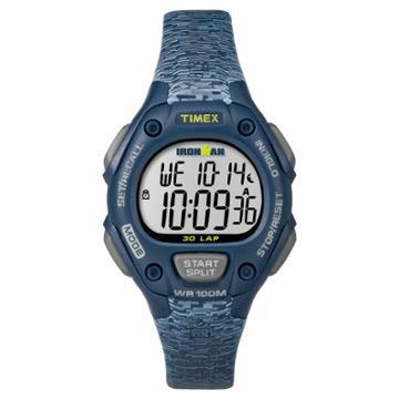 Women's Timex Ironman Classic 30 Lap Digital Watch - Navy Tw5m07400jt, Blue