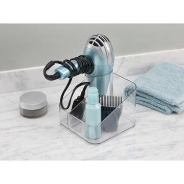 Clarity Counter Top Hair Dryer Holder Clear - Idesign