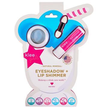 Klee Naturals Eyeshadow & Lip Shimmer Makeup Kit,