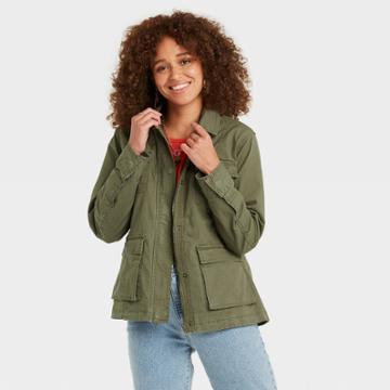 Women's Anorak Jacket - Universal Thread Olive Green