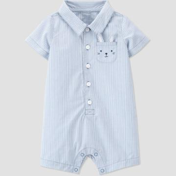 Baby Boys' Bunny Romper - Just One You Made By Carter's Blue