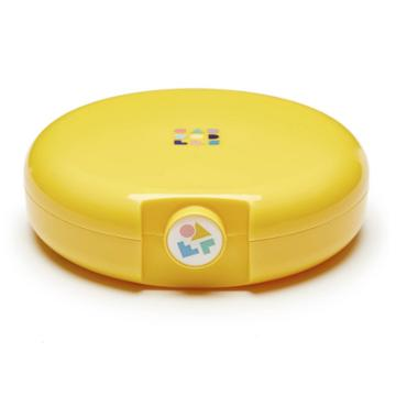 Caboodles Cosmic Compact Case - Yellow, Adult Unisex