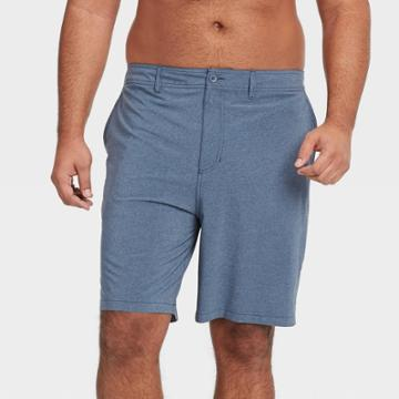 Men's Big & Tall 9 Hybrid Swim Shorts - Goodfellow & Co Blue