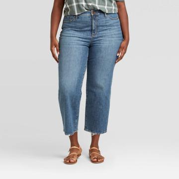 Women's Plus Size High-rise Skinny Jeans - Universal Thread Dark Wash