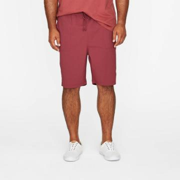 Men's Big & Tall 9 Utility Woven Pull-on Shorts - Goodfellow & Co Berry
