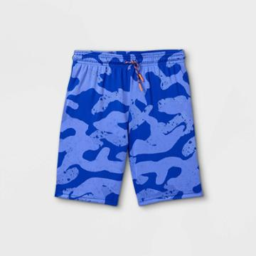 Boys' Printed Shorts - All In Motion Blue