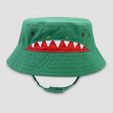 Baby Boys' Alligator Woven Hat - Cat & Jack Green