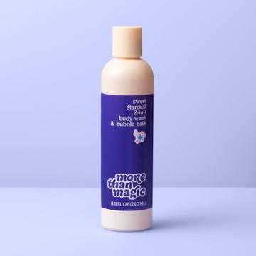 2-in-1 Body Wash & Bubble Bath - 8.11 Fl Oz - More Than Magic