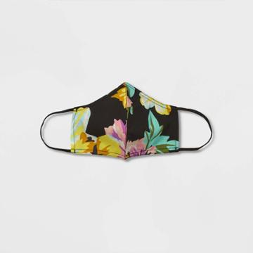 Women's Mask - Who What Wear Black Floral