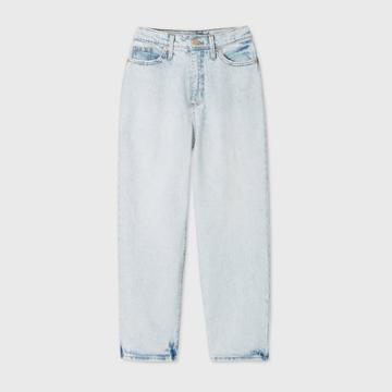 Women's High-rise Vintage Straight Cropped Jeans - Universal Thread
