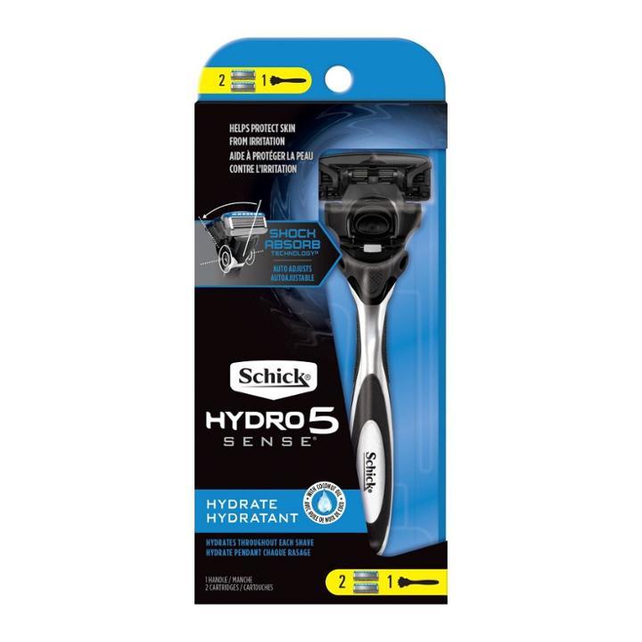 Schick Hydro Sense Hydrate Men's Razor - 1 Razor Handle And