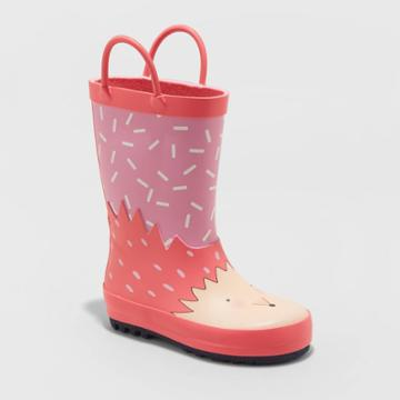 Toddler Girls' Weneta Rain Boots - Cat & Jack Pink