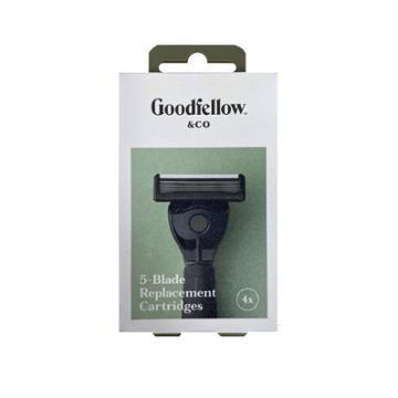 5 Blade Cartridges - 4ct - Goodfellow & Co