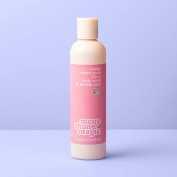 2-in-1 Bubble Body Wash - 8.11 Fl Oz - More Than Magic Orange Cream Crave