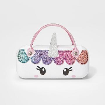 Girls' Unicorn Sunglass Case - Cat & Jack White