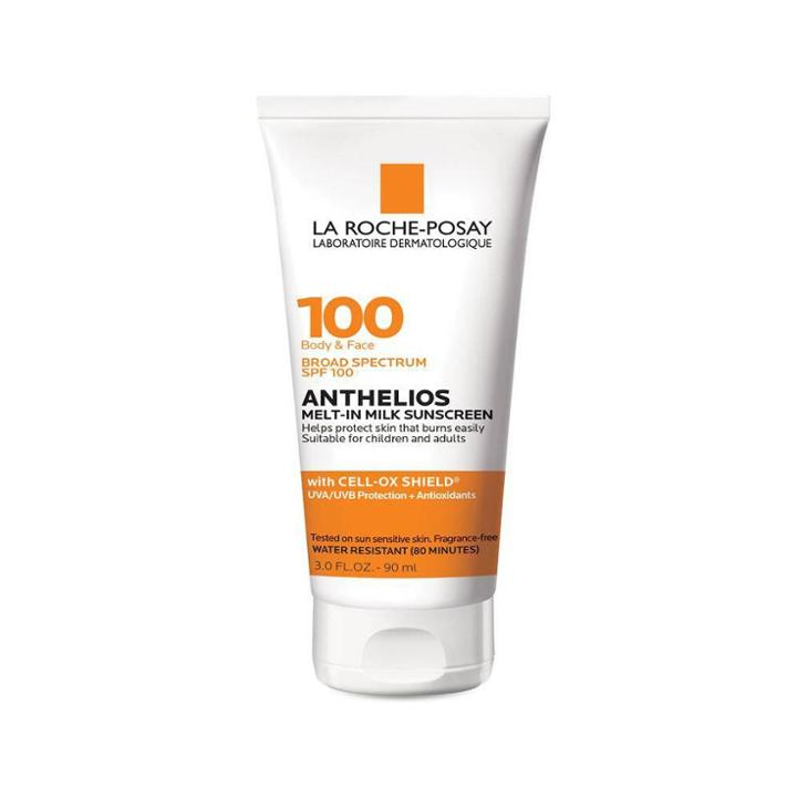 La Roche Posay Anthelios Melt In Milk Sunscreen Lotion - Spf 100 - 3.0 Fl Oz, Adult Unisex