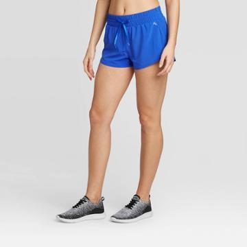 Women's High-waisted Shorts - Joylab Blue