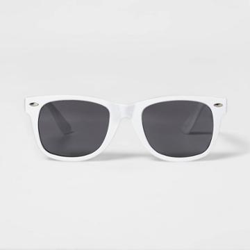 Surf Sunglasses - Sun Squad White, Adult Unisex