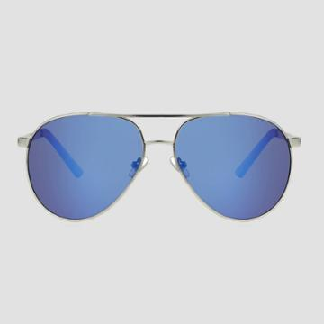 Men's Aviator Metal Sunglasses - Goodfellow & Co