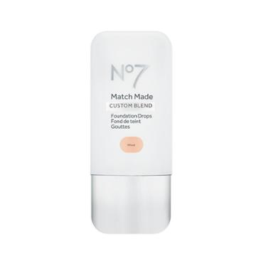 No7 Match Made Foundation Drops Wheat